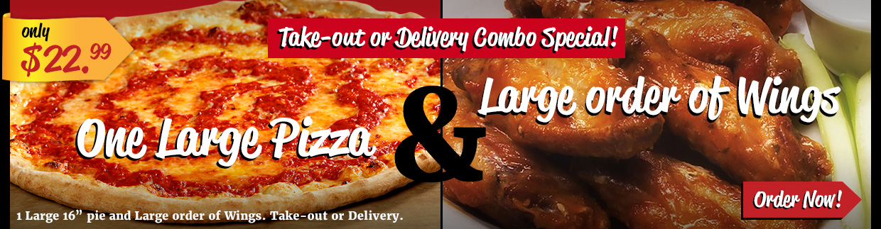 Take-Out & Delivery Specials! Order Now!
